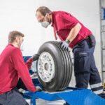 DC Aviation вводит в эксплуатацию новый цех по ремонту колесных дисков и шин