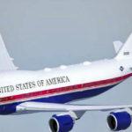 Раскрыт новый бело-сине-красный дизайн для самолета Трампа